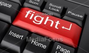 Word Fight On Keyboard