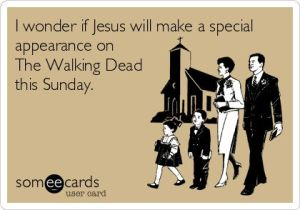 jesus walking dead