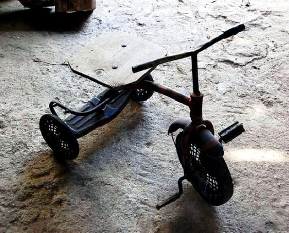 tricicleta-veche