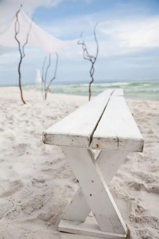 beach bench